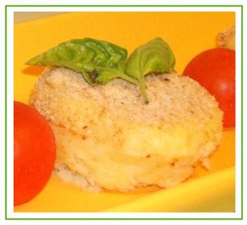 Gateau di patate monoporzione